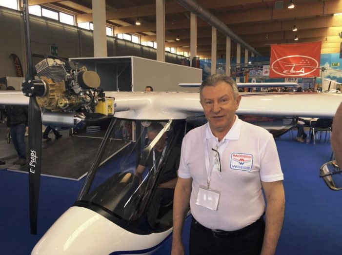 Avionul ultraușor românesc SWAN, din nou prezent la AERO – The Global Show for General Aviation (Friedrichshafen, Germania)