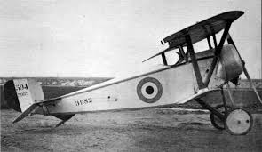 Nieuport 11 (Bebe) Fighting Scout Biplane Aircraft
